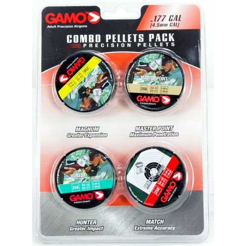 Gamo .177 Performance Airgun Pellets 4-Pack - view number 1