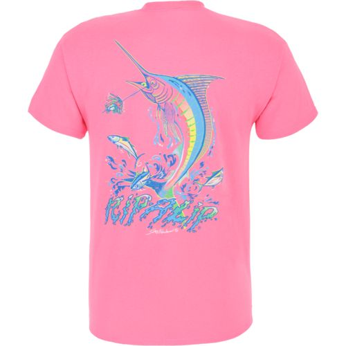Academy rip a lip adults 39 marlin t shirt for Rip a lip fish wear