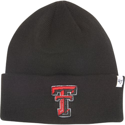'47 Men's Texas Tech University Raised Cuff Knit Cap