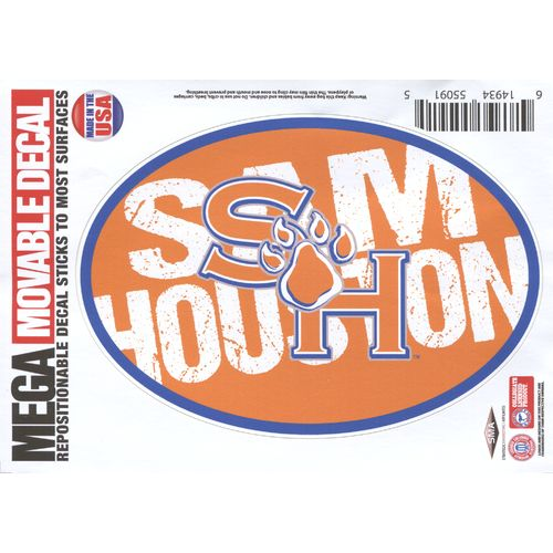 "Stockdale Sam Houston State University 5"" x 7"" Repositionable Decal"