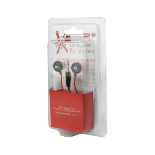 AES Optics NCAA Team Logo Ear Buds