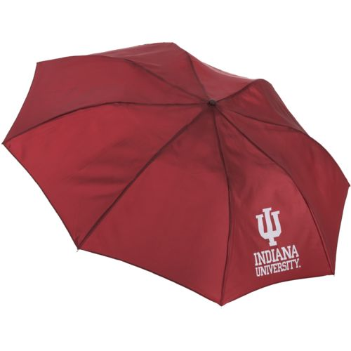 "Storm Duds Adults' Indiana University 42"" Automatic Folding Umbrella"