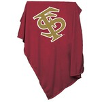 Logo Chair Florida State University Sweatshirt Blanket