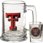 Great American Products Texas Tech University 2-Piece Tankard and Shot Glass Set