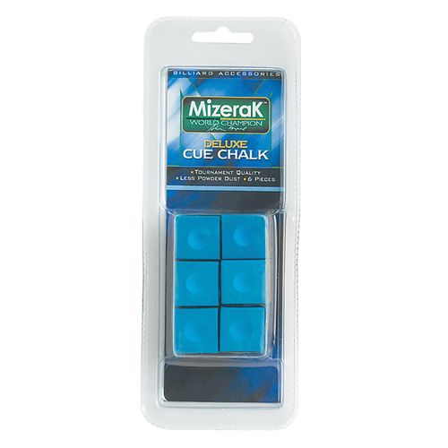 Mizerak™ Billiard Cue Chalks 6-Pack