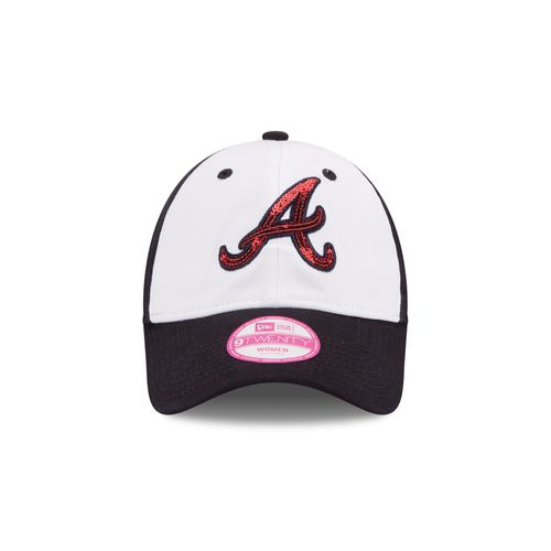 New Era Women's Atlanta Braves Glimmer 9TWENTY Adjustable Cap