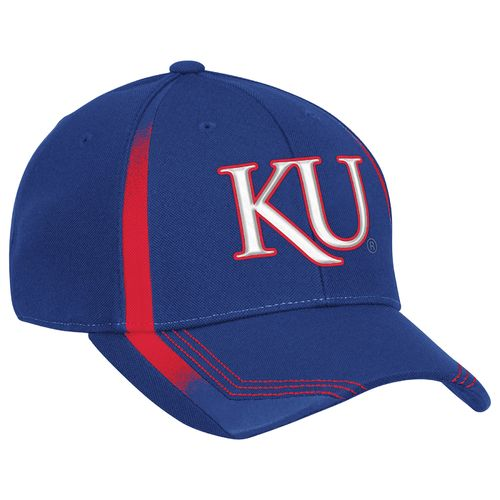 adidas™ Men's University of Kansas Fitted Cap