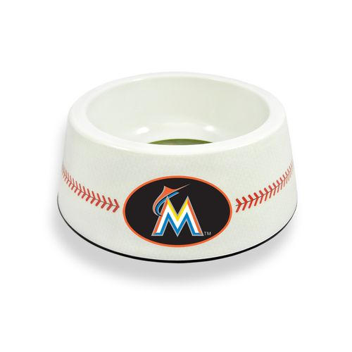 GameWear Miami Marlins Classic Baseball Pet Bowl