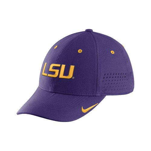 Nike™ Men's Louisiana State University Sideline Legacy91 Swoosh Flex Cap