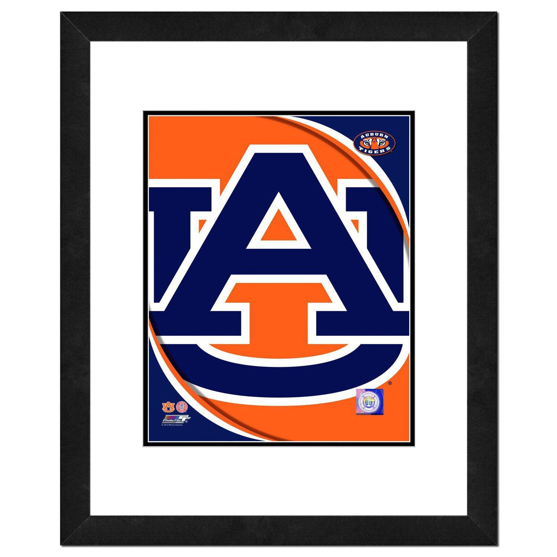 "Hot Photo File Auburn University 8"" x 10"" Team Logo Photo free shipping"