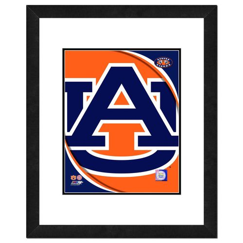 Photo File Auburn University 8' x 10' Team Logo Photo
