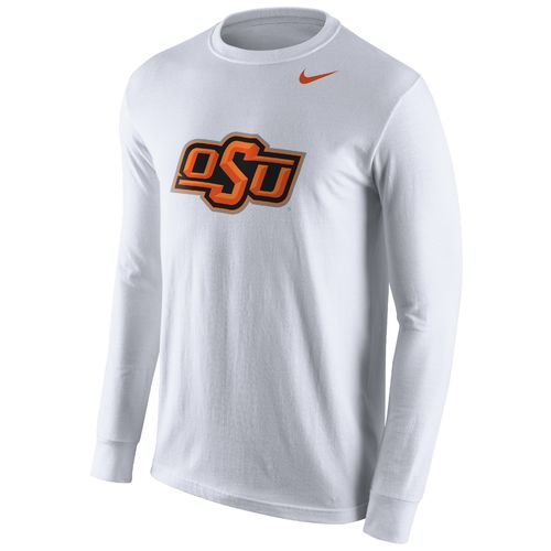 Nike Men's Oklahoma State University Cotton Long Sleeve