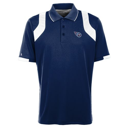 Antigua Men's Tennessee Titans Fusion Polo Shirt