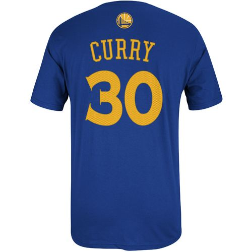 adidas Men's Golden State Warriors Stephen Curry No. 30 High Density T-shirt - view number 1
