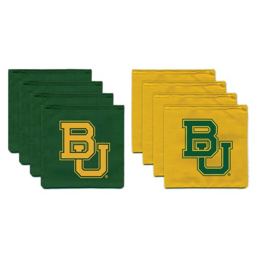 BAGGO® Baylor University 9.5 oz. Replacement Beanbag Toss Beanbags 8-Pack