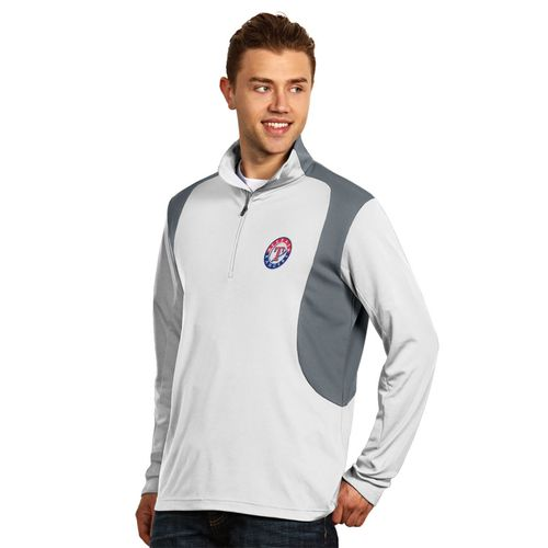 Antigua Men's Texas Rangers Delta Pullover