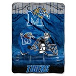 The Northwest Company University of Memphis Overtime Micro Raschel Throw