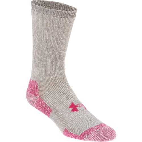 Under Armour™ Adults' ColdGear® Boot Crew Socks 2-Pack
