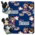 The Northwest Company New England Patriots Mickey Mouse Hugger and Fleece Throw Set