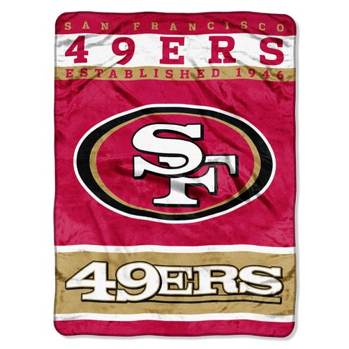 The Northwest Company San Francisco 49ers 12th Man Raschel Throw
