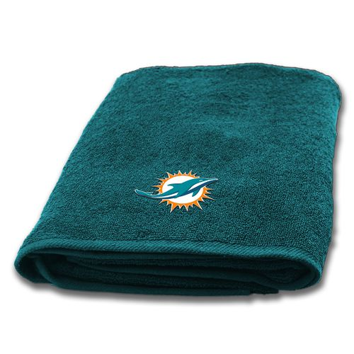 The Northwest Company Miami Dolphins Appliqué Bath Towel - view number 1