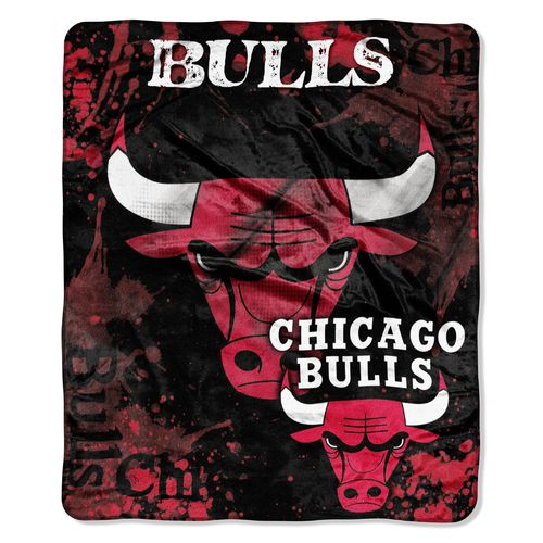 The Northwest Company Chicago Bulls Dropdown Raschel Throw - view number 1