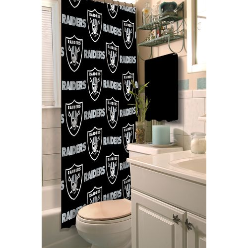 The Northwest Company Oakland Raiders Shower Curtain