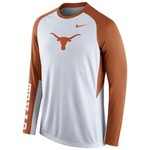 Nike Men's University of Texas ELITE Shootaround Long Sleeve T-shirt