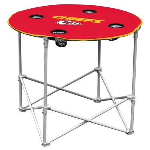 Logo™ Kansas City Chiefs Logo Round Table