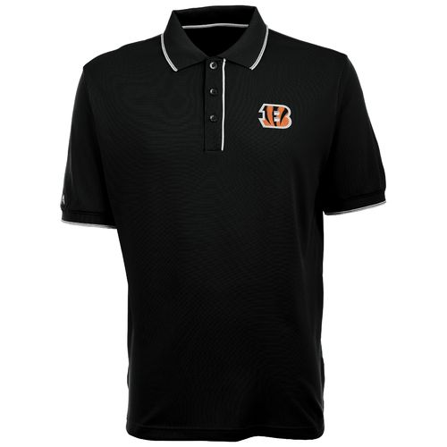 Antigua Men's Cincinnati Bengals Elite Polo Shirt
