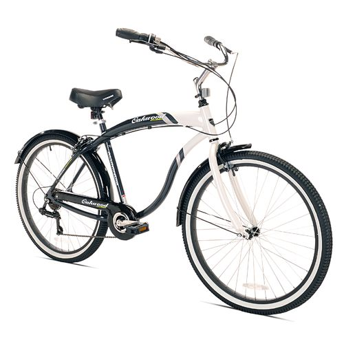"KENT Men's Oakwood Cruiser 26"" 7-Speed Bicycle"