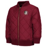 Colosseum Athletics Toddler Boys' Florida State University Roger Captain Bomber Jacket