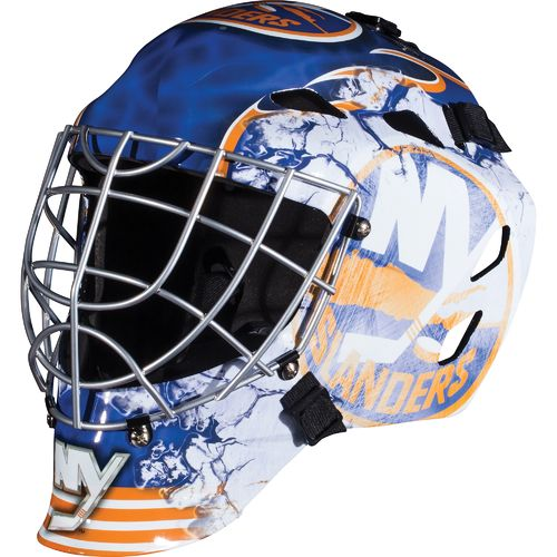 Franklin Boys' New York Islanders GFM 1500 Goalie Face Mask - view number 1