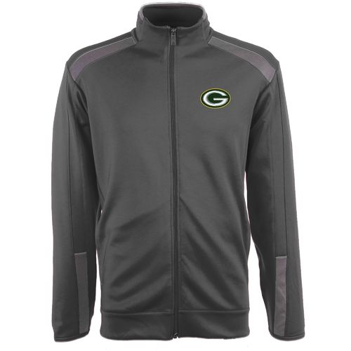 Antigua Men's Green Bay Packers Flight Jacket