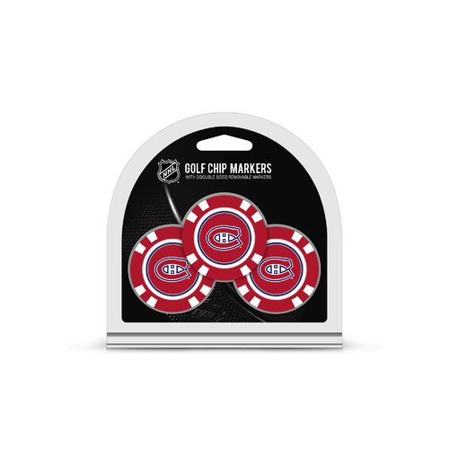 Team Golf Montreal Canadiens Poker Chip and Golf Ball Marker Set - view number 1