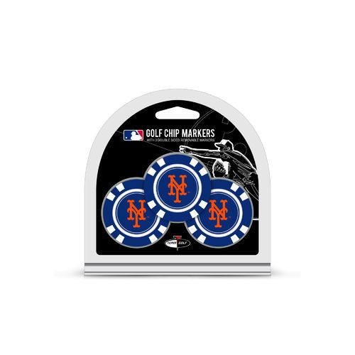 Team Golf New York Mets Poker Chip Markers 3-Pack - view number 1