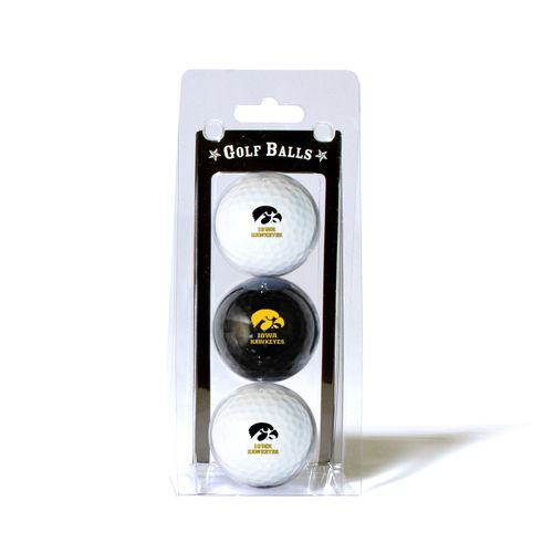 Team Golf University of Iowa Golf Balls 3-Pack - view number 1
