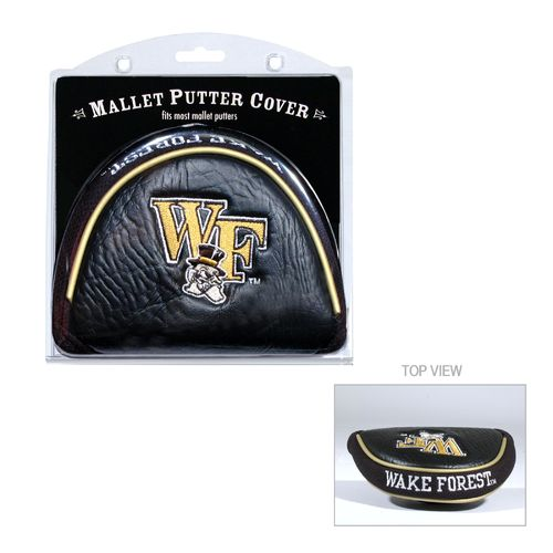 Team Golf Wake Forest University Mallet Putter Cover