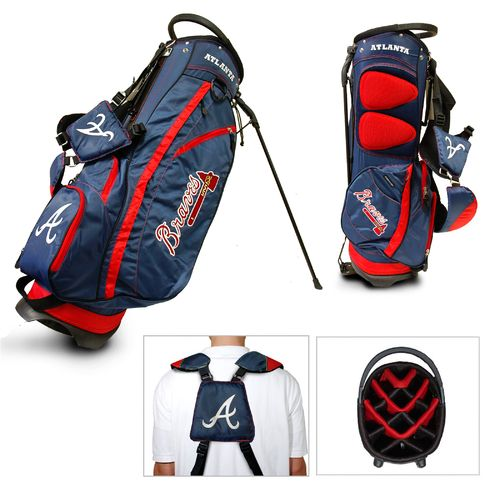 Team Golf Atlanta Braves Fairway 14-Way Golf Stand
