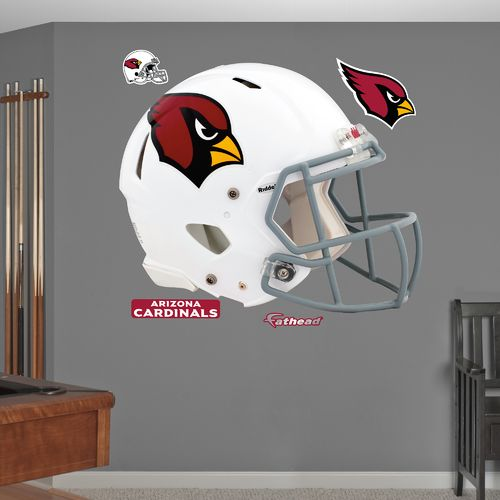 Fathead Arizona Cardinals Real Big Helmet Decal