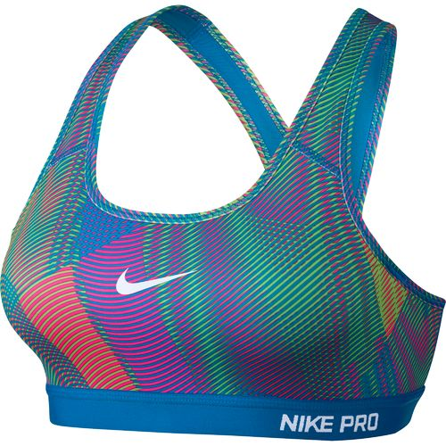 Nike Women's Pro Frequency Classic Padded Sports Bra