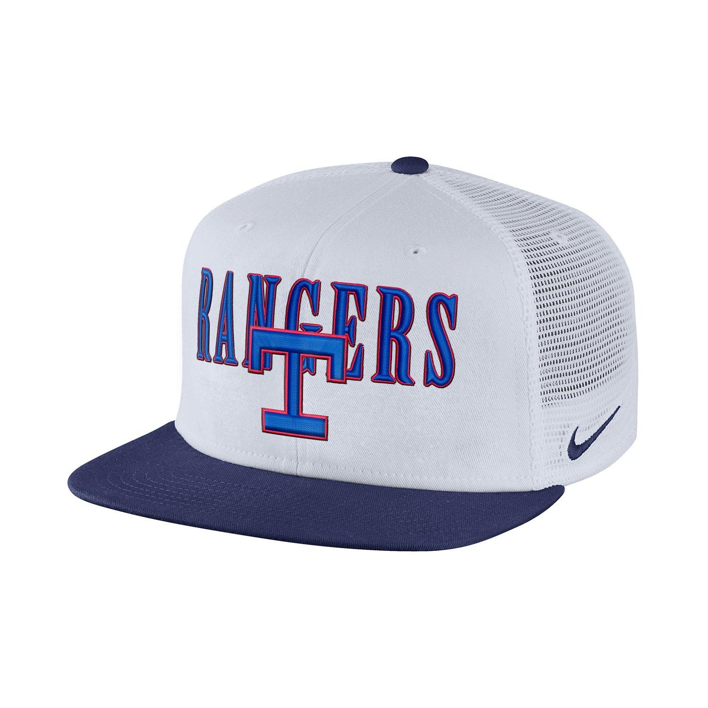 Nike™ Men's Texas Rangers Coop Pro Adjustable Cap