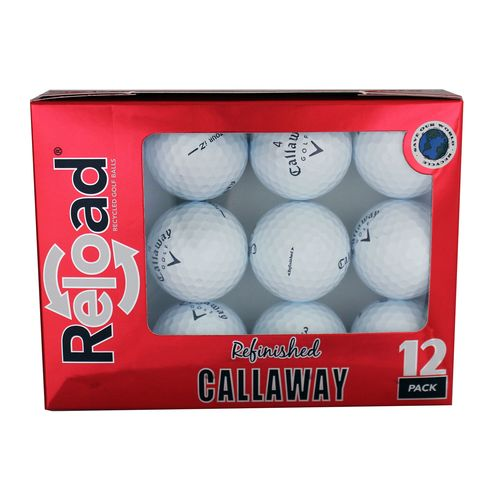 Reload™ Callaway Refinished Golf Balls 12-Pack
