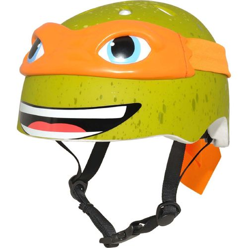 Raskullz Kids' Teenage Mutant Ninja Turtles Michelangelo Bicycle Helmet