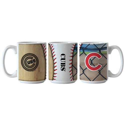 Boelter Brands Chicago Cubs Ballpark Coffee Mugs 2-Pack - view number 1