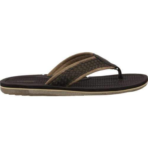 O'Rageous® Men's Woven Comfort Thong Sandals