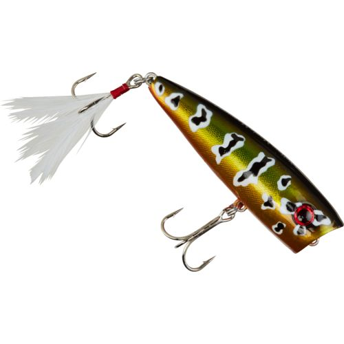 "Display product reviews for Yellow Magic Popper Magnum 3"" Topwater Bait"
