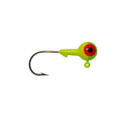 Big Bite Baits 2-Eye 2-Color Round Jigheads 10-Pack - view number 1