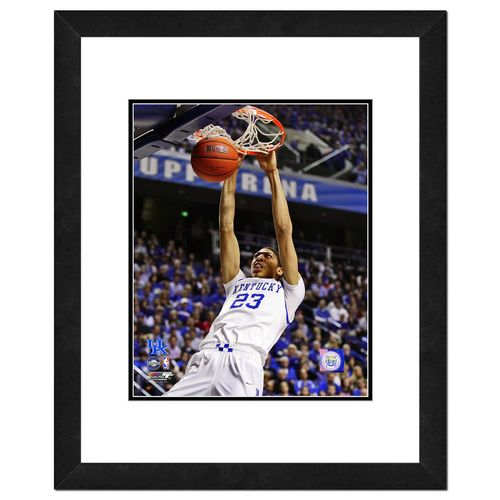 "Photo File University of Kentucky Anthony Davis 16"" x 20"" Matted and Framed Photo"