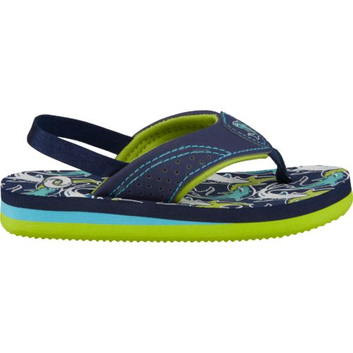 O'Rageous® Toddler Boys' Sharks Sandals